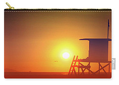 Carry-all Pouch featuring the photograph Kicking It by Everette McMahan jr