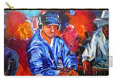 Kid Poker Carry-all Pouch by Ken Pridgeon