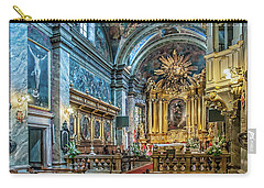 Kielce Cathedral In Poland Carry-all Pouch by Brian Tarr