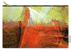 Carry-all Pouch featuring the painting Kilauea by Dominic Piperata