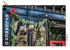 Kildares Irish Pub At Christmas Carry-all Pouch