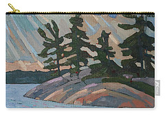 Killbear Pines And Morning Crepuscular Rays Carry-all Pouch