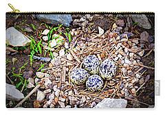 Killdeer Nest Carry-all Pouch