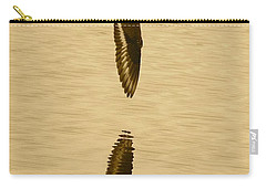 Killdeer Over The Pond Carry-all Pouch by Carol Groenen