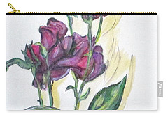 Kimberly's Spring Flower Carry-all Pouch by Clyde J Kell