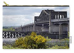 Carry-all Pouch featuring the photograph Kincardine Bridge by Jeremy Lavender Photography