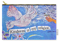 Kindness Is My Religion Carry-all Pouch