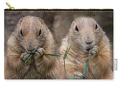 Carry-all Pouch featuring the photograph Kindred by Robin-Lee Vieira