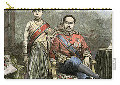 Carry-all Pouch featuring the drawing King Chulalongkorn by Granger