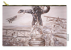 King Kong - Atop The Empire State Building Carry-all Pouch