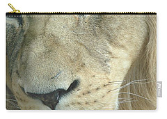 Carry-all Pouch featuring the photograph King by Margaret Bobb
