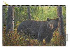 Carry-all Pouch featuring the painting King Of His Domain by Kim Lockman
