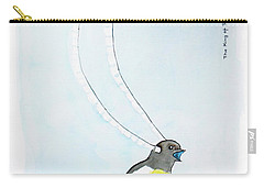 King Of Saxony Bird Of Paradise Carry-all Pouch by Keshava Shukla