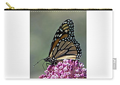 King Of The Butterflies Carry-all Pouch by Stephen Flint
