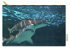 Carry-all Pouch featuring the photograph King Of The Tank by Aaron Martens