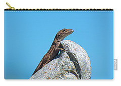 King Of The World Carry-all Pouch by Kenneth Albin
