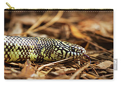 King Snake 2 Carry-all Pouch by Arthur Dodd