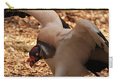 King Vulture 1 Carry-all Pouch by Chris Flees