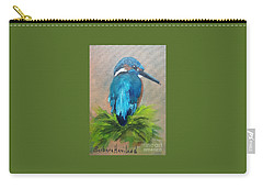 Kingfisher Bird Carry-all Pouch