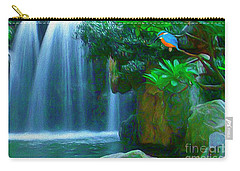 Kingfisher Falls Carry-all Pouch