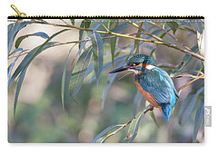 Kingfisher In Willow Carry-all Pouch