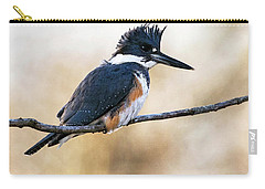 Kingfisher Listens Carry-all Pouch