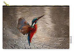 Kingfisher Carry-all Pouch
