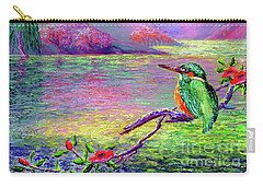 Kingfisher, Shimmering Streams Carry-all Pouch