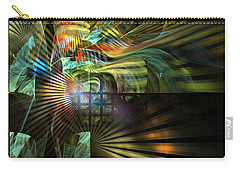 Carry-all Pouch featuring the digital art Kings Ransom by NirvanaBlues