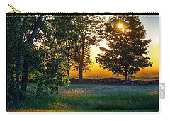 Carry-all Pouch featuring the photograph Kingsbury Sunset by Kendall McKernon