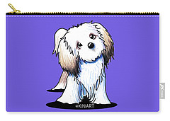 Kiniart Lhasa Apso Carry-all Pouch