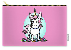 Kiniart Unicorn Sparkle Carry-all Pouch