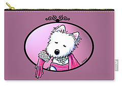 Kiniart Westie Glam Carry-all Pouch
