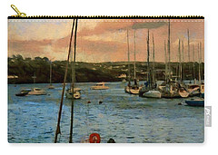 Kinsale Harbour Evening Carry-all Pouch by Jeff Kolker