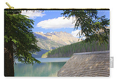 Kintla Lake Ranger Station Glacier National Park Carry-all Pouch