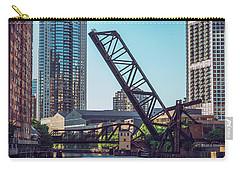Kinzie Bridge And Rail Bridge Carry-all Pouch