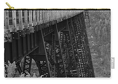 Carry-all Pouch featuring the photograph Kinzua Skywalk by Rick Morgan