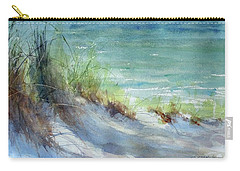 Carry-all Pouch featuring the painting Kirk County Morning by Sandra Strohschein