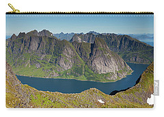 Kirkefjord View From Munken Carry-all Pouch by Aivar Mikko