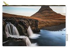 Kirkjufellsfoss Waterfalls Iceland Carry-all Pouch