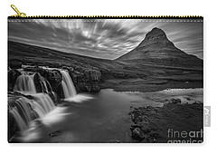 Kirkufellsfoss  Carry-all Pouch by Gunnar Orn Arnason