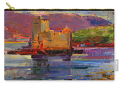 Kisimul Castle And Vatersay Carry-all Pouch by Peter Graham