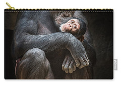 Kiss From Mom Carry-all Pouch by Jamie Pham