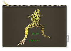 Kiss Me I'm A Prince Carry-all Pouch