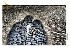 Kiss Me On The Cobblestone Carry-all Pouch by Dora Hathazi Mendes