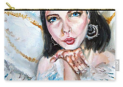 Kiss Of An Angel Carry-all Pouch