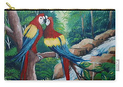 Kiss On The Forest Carry-all Pouch