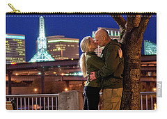 Kiss Under The Cherry Tree - Vertical Carry-all Pouch