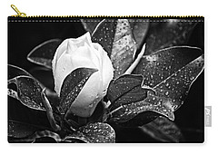 Carry-all Pouch featuring the photograph Kissed By Rain by Carolyn Marshall