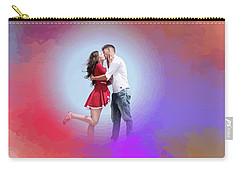 Kissing Couple Carry-all Pouch